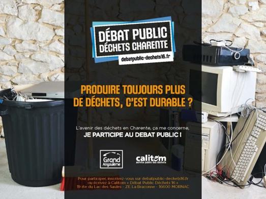 Débat public en Charente .
