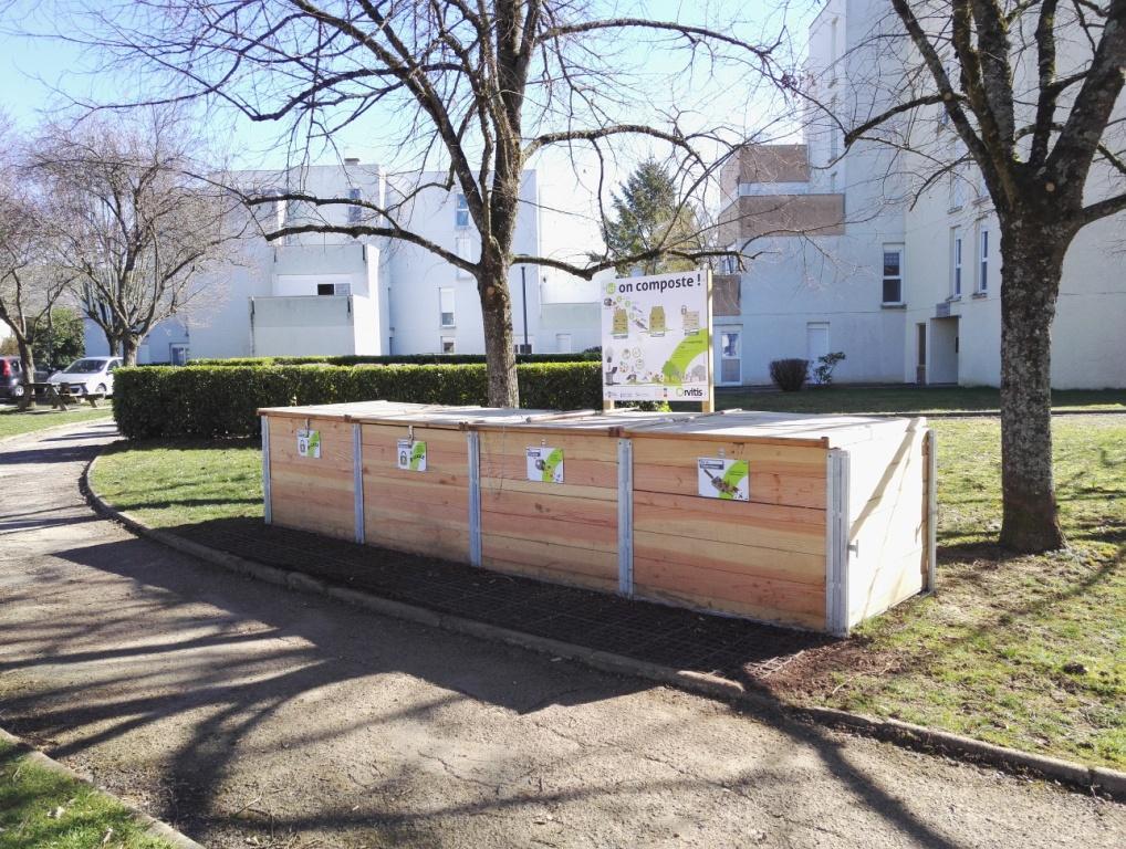 Site de compostage Orvitis - Venarey-Les Laumes