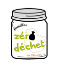 """Logo """"Familles zéro déchet en Côte-d'Or"""""""