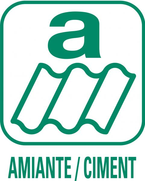 "Pictogramme ""Amiante-ciment"""