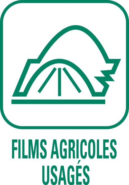 "Pictogramme ""Films agricoles usagés"""