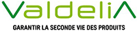 Logo Valdelia, garantir la seconde vie des produits