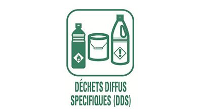 Picto Déchets diffus spécifiques (DDS)
